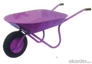 Wheel Barrow with Red Color  WH0202 For Garden