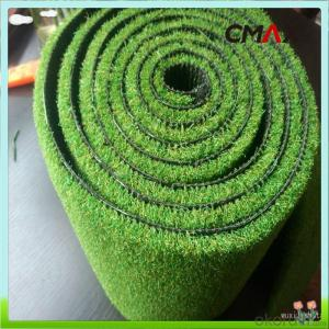 PE Monofilament & PP Curly Landscaping Artificial Grass Fake Lawn For Residential Garden Balcony