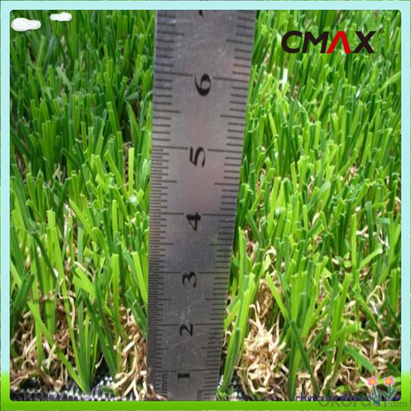 Environmental Friendly Green Color Landscaping Artificial Grass Lawn