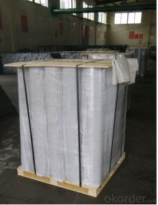 EPDM Coiled Rubber Waterproof Membrane with Fabric Back