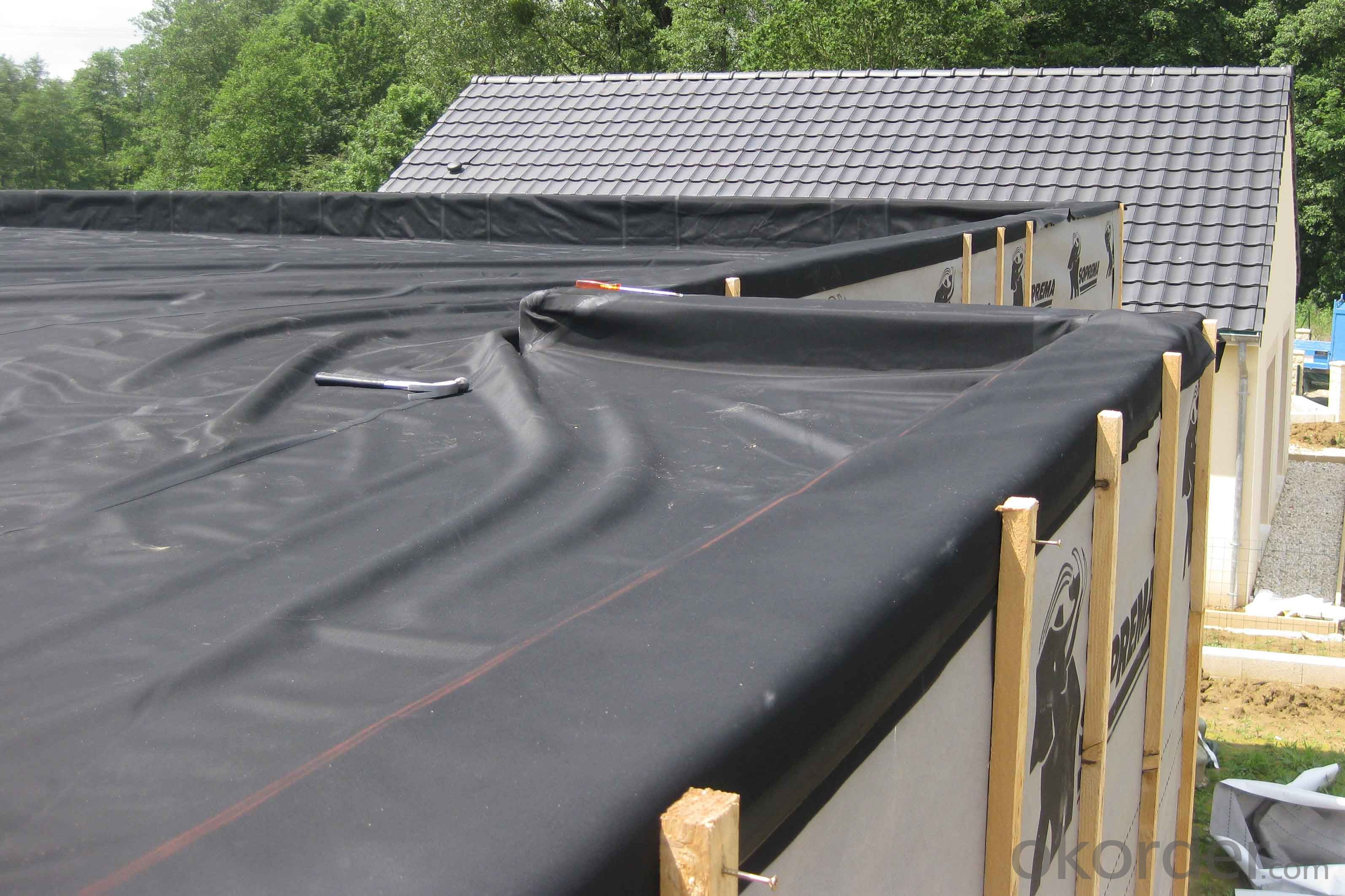 EPDM Coiled Rubber Waterproof Membrane with Fleeced Back