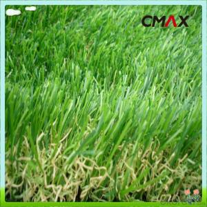 Monofilament Curly Yarn Green Turf Landscaping Artificial Grass For Villa