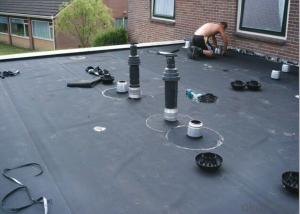 EPDM Coiled Rubber Waterproof Membrane for Roofing Area