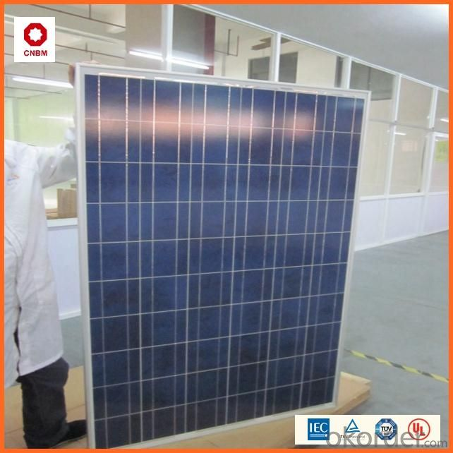 120W Monocrystalline Silicon Solar Module With CE/IEC/TUV/ISO Approval Standard Solar