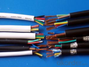Copper Wire Tape Screen Cable Multi Screen Cable