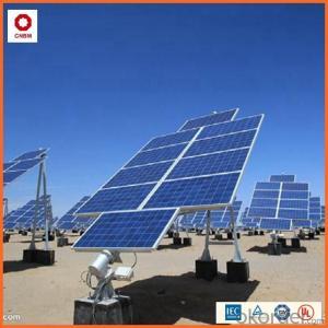120W Monocrystalline Silicon Solar Module With CE/IEC/TUV/ISO Approval Standard Solar