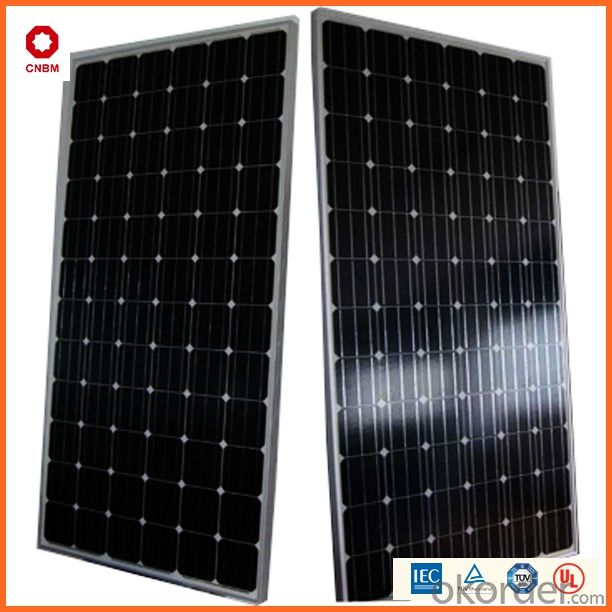 250W Monocrystalline Silicon Solar Module With CE/IEC/TUV/ISO Approval Standard Solar