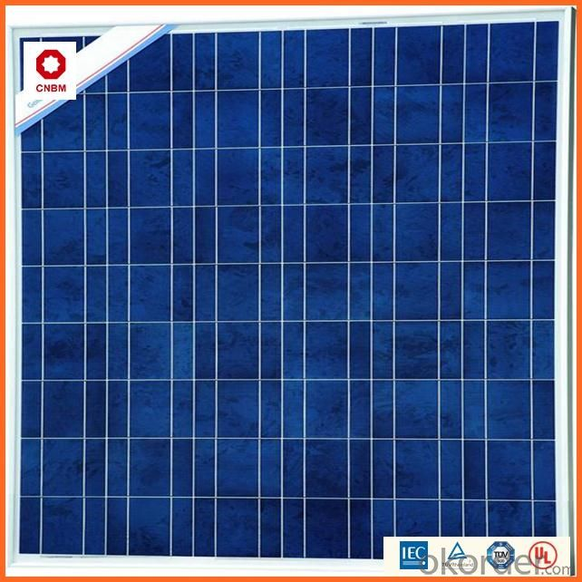100W Monocrystalline Silicon Solar Module With CE/IEC/TUV/ISO Approval Standard Solar