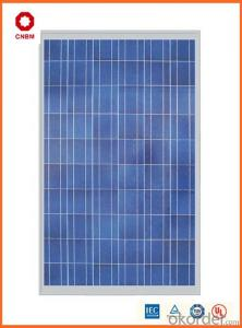 80W Monocrystalline Silicon Solar Module With CE/IEC/TUV/ISO Approval Standard Solar