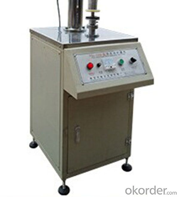 Manual Proof Capacitor Sealer for Can Making