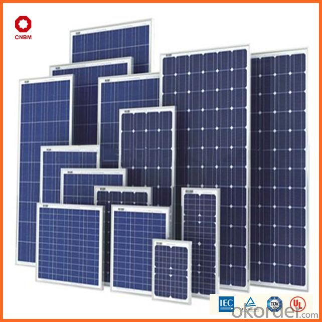 75W Monocrystalline Silicon Solar Module With CE/IEC/TUV/ISO Approval Standard Solar