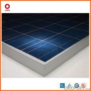 105W Monocrystalline Silicon Solar Module With CE/IEC/TUV/ISO Approval Standard Solar