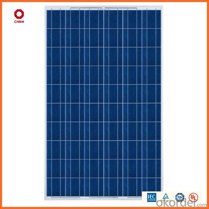 150W Monocrystalline Silicon Solar Module With CE/IEC/TUV/ISO Approval Standard Solar