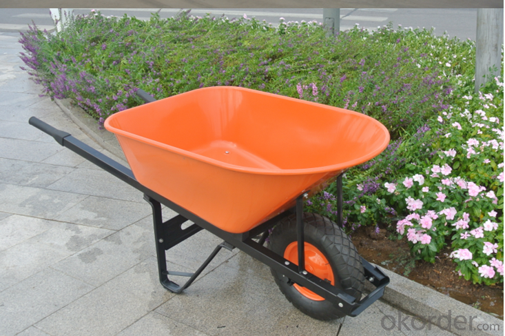 Wheel Barrow with  WB6401 For Construction