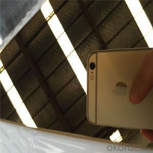 Steel Sheet 201 Mirror Stainless Steel Factory Price Half Copper
