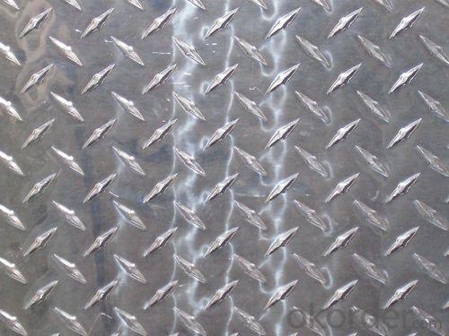 Aluminum Diamond Checkered Sheet Price Wholesale 1000 Series