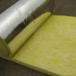 Glass Wool Blanket 20kg/m3 With Aluminum Foil Facing