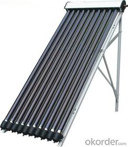 Heat-pipes Solar Collectors for Rooftop made in China