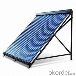 Heat-pipes Solar Collectors for Rooftop with ROHS Certificate