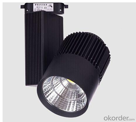 LED Track Light Manufacture Bridgelux  Epistar COB LED, 80Ra CRI