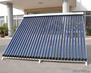 18 Tubes Solar Pipes Solar Collectors High Efficiency