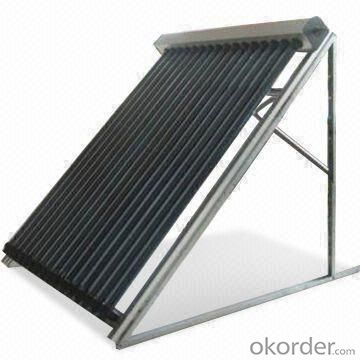 Heat Pip Vacuum Tubes Solar Collectors with High Power Output
