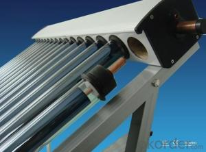 10 Tubes Solar Pipes Solar Collectors High Efficiency