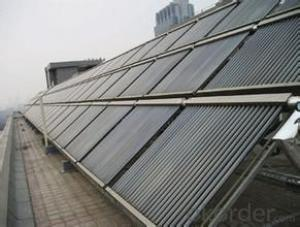 Heat Pip Vacuum Tubes Solar Collectors for Rooftop