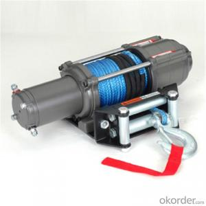 Cable Winch 3500LBS 12V 24V DC Self Recovery Electric Winch/Mini Electric Winches