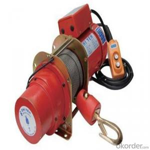 CMAX2001-I Power Wire Rope Winch 12v/24v, Roller Fairlead, Handheld Remote