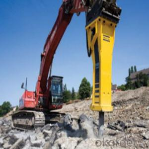 Excavator Mounted Breaker High Level Breaking Rock from China