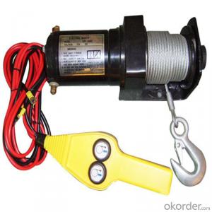 Mini Winches 3500LBS 12V 24V DC Self Recovery Electric Winch