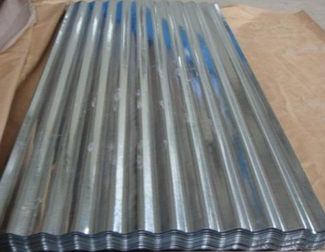 Hot-Dipped Corrugated Steel Roofing Sheet
