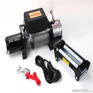 /Mini Electric Winches 3500LBS 12V 24V DC Self Recovery Electric Winch