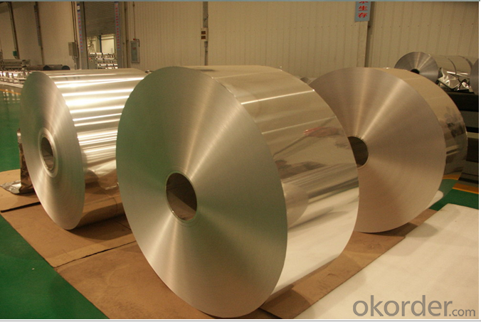 Aluminium Foil Jumbo Roll Raw Material For Cable & Wire