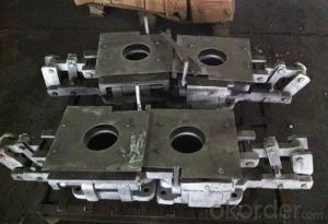 Upper and Lower Nozzle Brick, Sliding Gate Plate for Converter