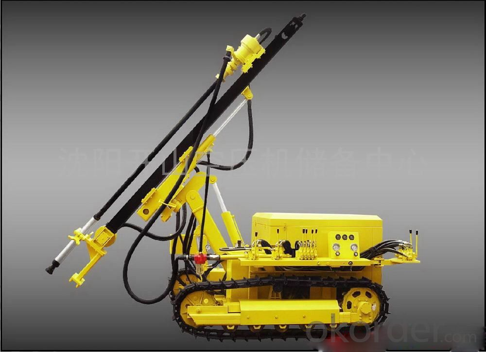 Hydraulic Crawler Multi-function Drilling Rigs