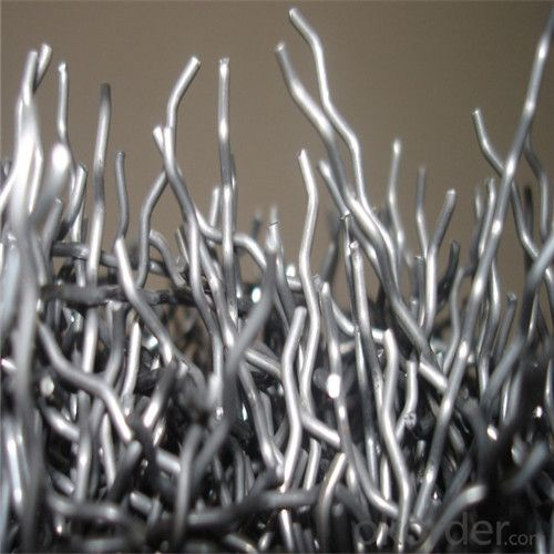 Endhooked Steel Fiber Melt Extracted Stainless Steel Fibers Used For Furnace