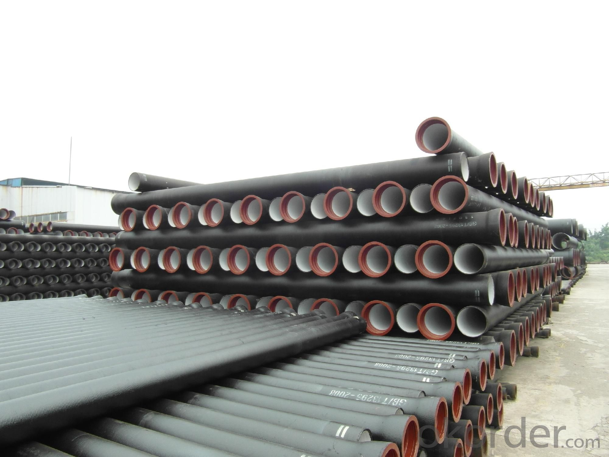 Ductile Iron Pipe DN500-DN1000 ISO2531 In Bulk Vessel