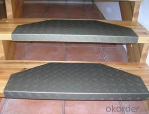 Aluminium Stair Checker Plate 3003 H14 Thickness 2.5mm