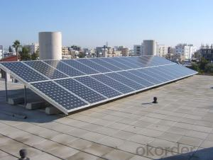 Solar Panel with High Efficiency Good Quality Poly 50W
