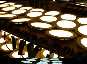 LED Round Led Slim Panel Made in China  High Quality