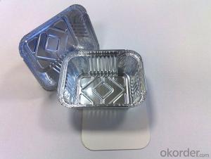 Hot Sale Disposable Aluminium Foil Container