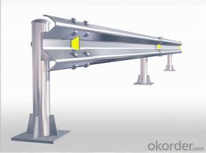Galvanized Steel Highway Guardrail Road Safety Barrier