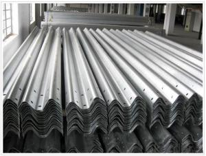 Galvanized Road Safety Barriers Guardrails