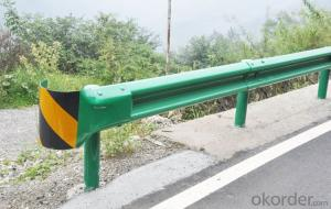 W Beam Safety Galvanized Road Cable Barrier