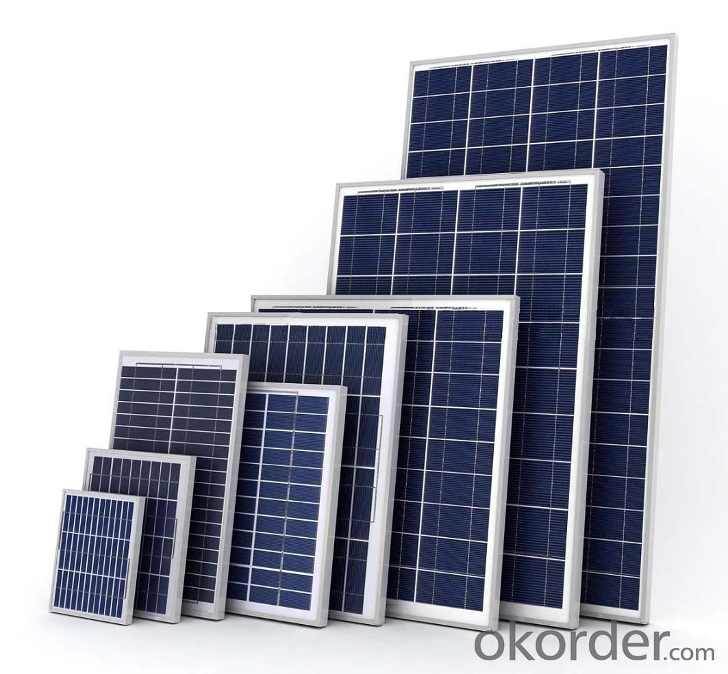Solar Panel with High Efficiency Good Quality Poly 15W