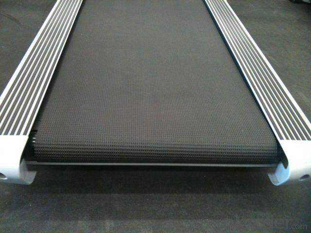 2.0MM Treadmill Diamond Golf Pattern PVC Conveyor Belt
