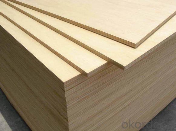 B/C, C/D, D/E and E/F Grade Birch Plywood