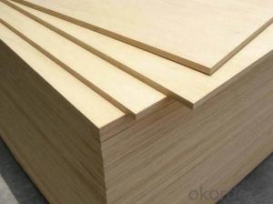 B/C, C/D, D/E and E/F Grade Birch Plywood